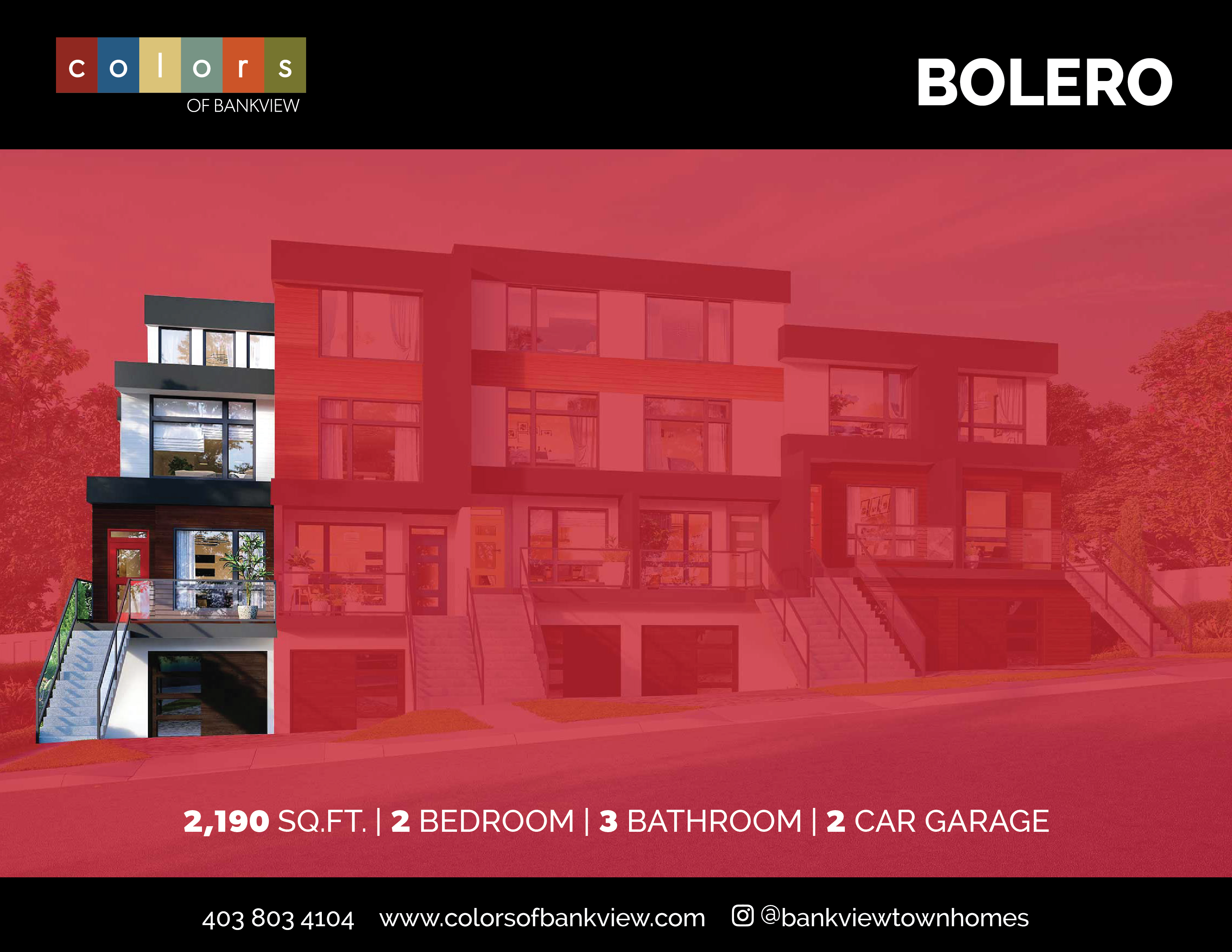 Bolero Townhome at Colors of Bankview
